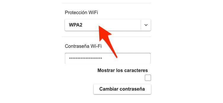 Mejor encriptación de la red WiFi