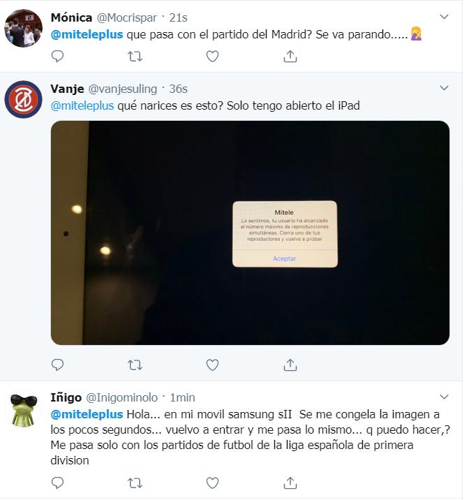 Quejas Miteleplus