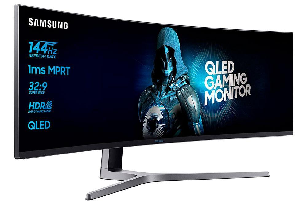 Samsung QLED de 49 pulgadas con pantalla curva