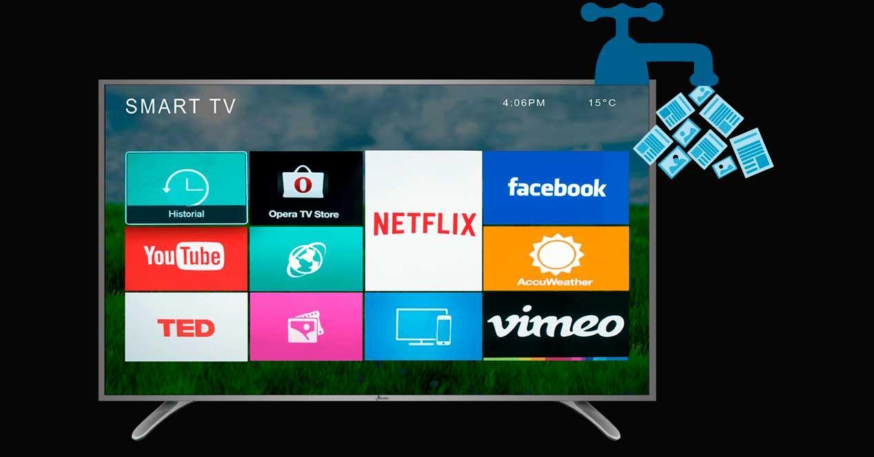Algunas Smart TV envían datos privados a Netflix, Google y Facebook