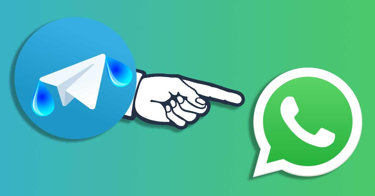 telegram rie whatsapp