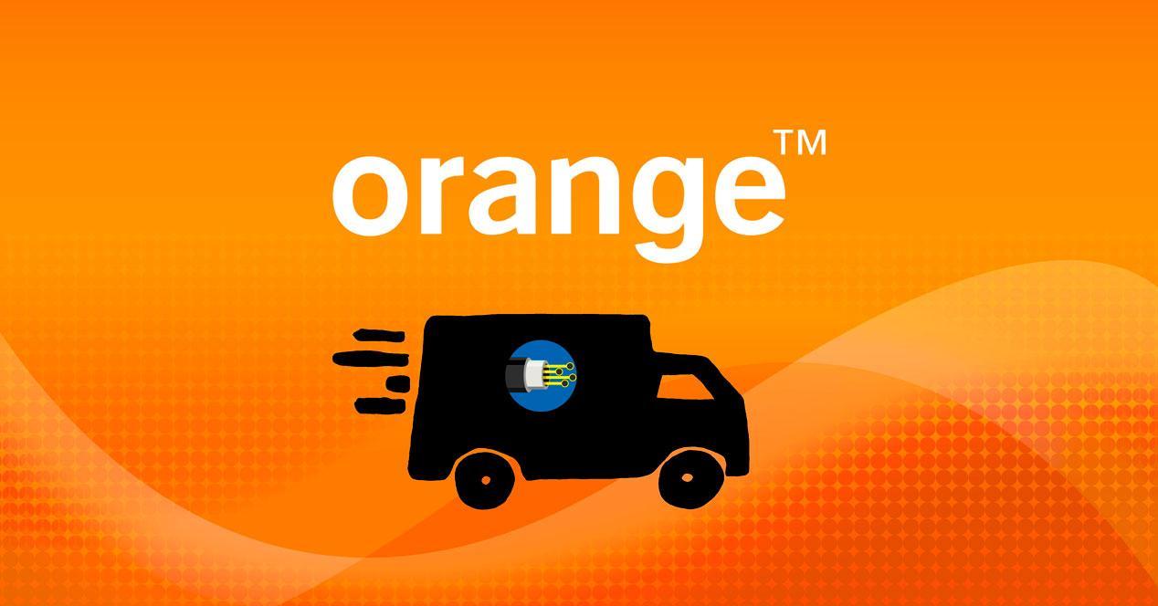 Traslado de fibra óptica de Orange
