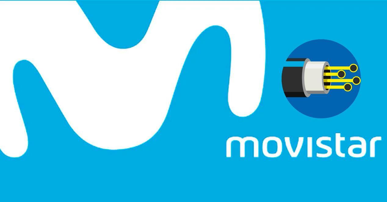 Traslado de fibra óptica de Movistar