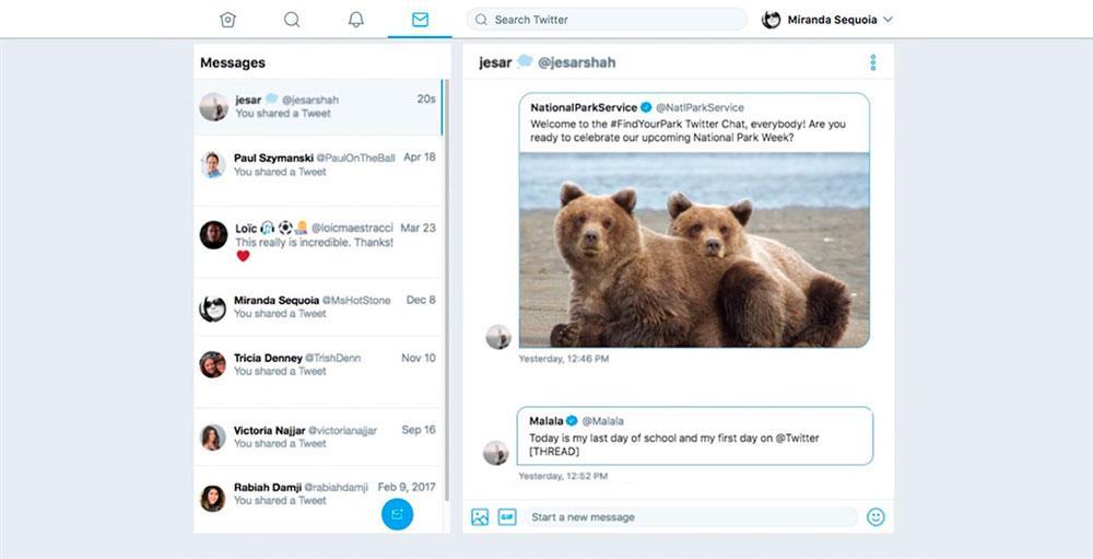 Aplicación de Twitter PWA para Windows 10
