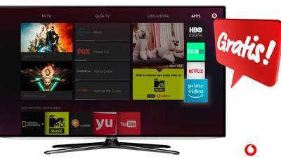 Amazon Prime, HBO, Tidal, Netflix… cómo saber todo lo que puedes tener gratis en Vodafone