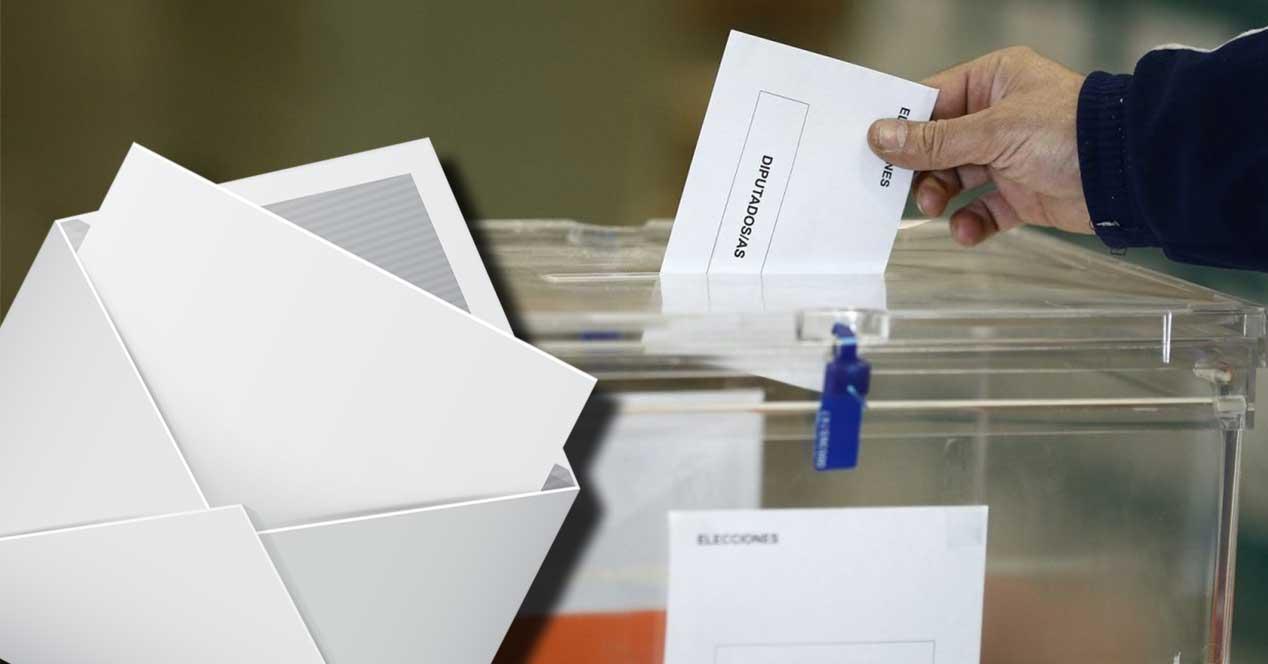 voto por correo elecciones
