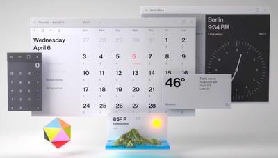 Se filtra el espectacular diseño del nuevo calendario de Windows 10