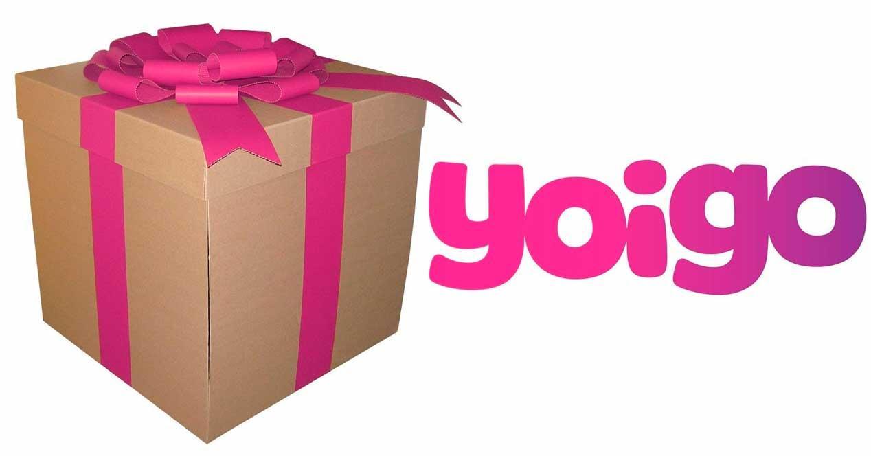 compartir datos en Yoigo