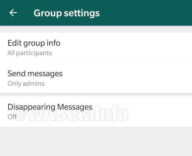 WhatsApp prueba una función que podrá autodestruir mensajes