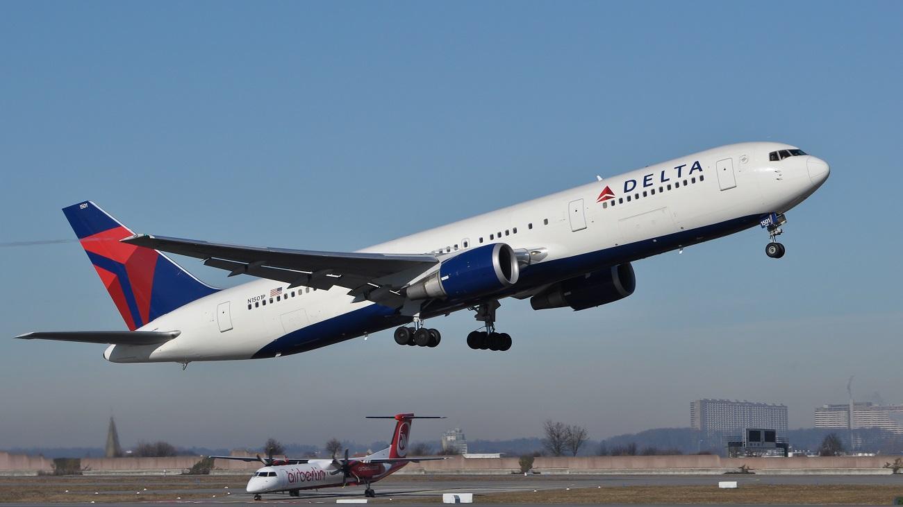 Delta Airlines WiFi gratis en el avión