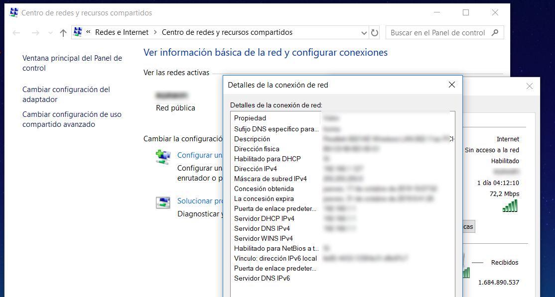 Encontrar la IP en Windows