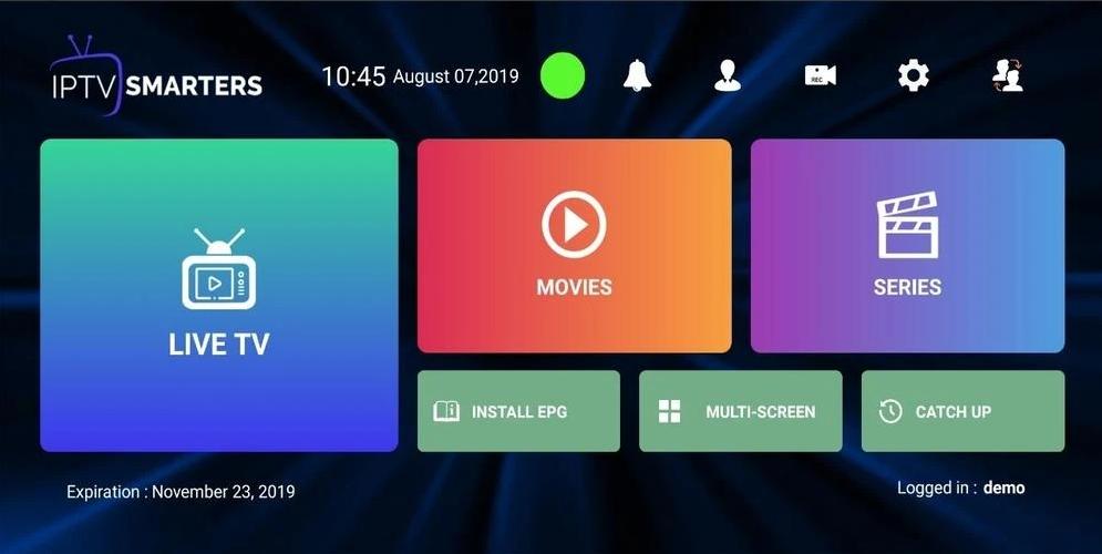 IPTV Smarters - Aplicaciones IPTV para Windows