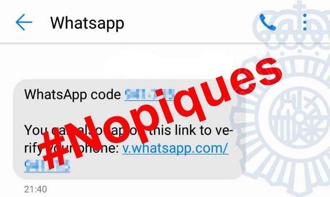 virus de WhatsApp