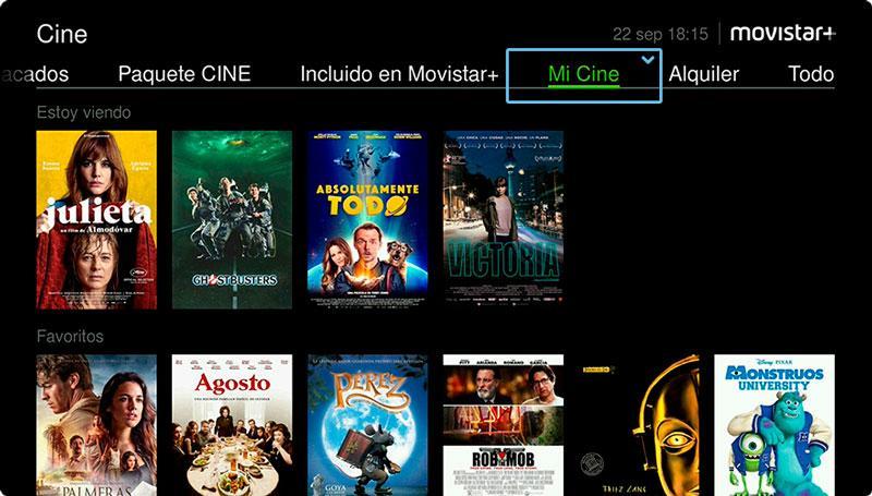 Cine Movistar