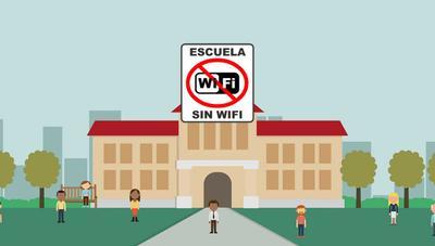 """Un colegio elimina el WiFi """"por la seguridad de pequeños y mayores"""""""
