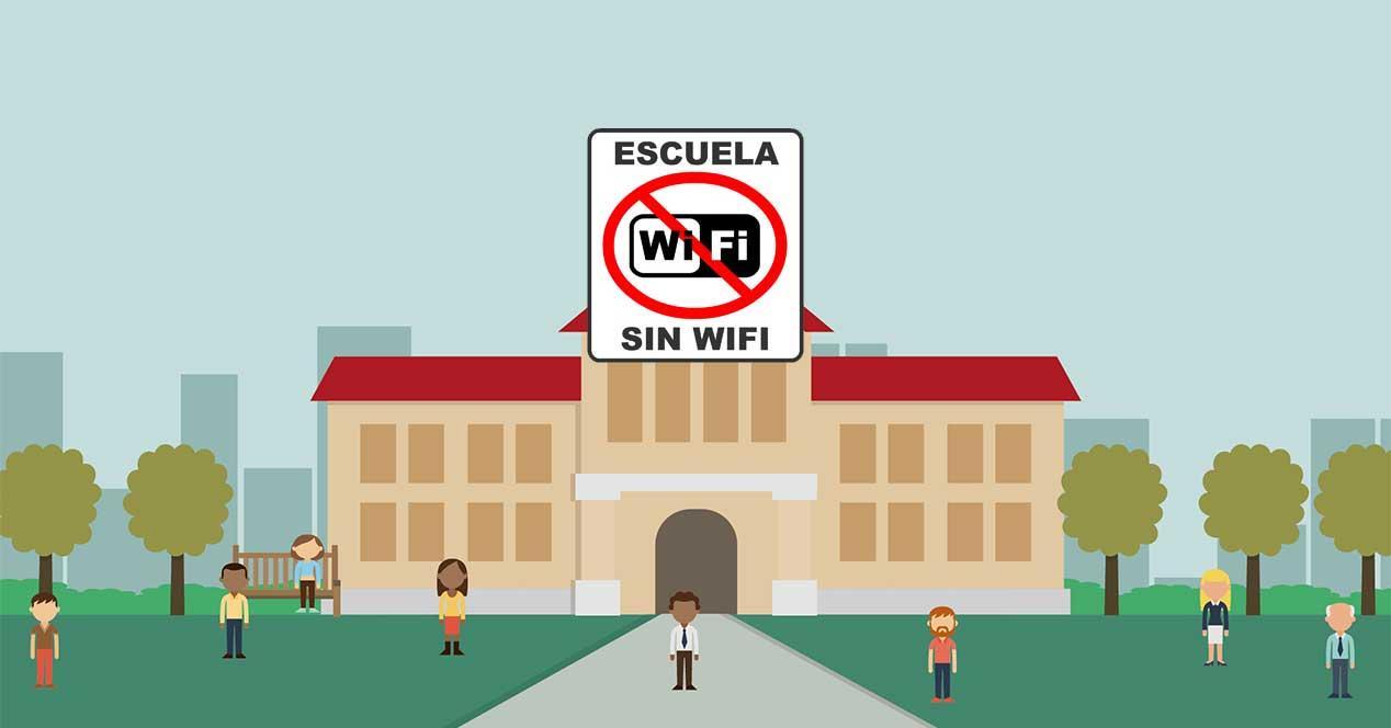 """Ver noticia 'Noticia 'Un colegio elimina el WiFi """"por la seguridad de pequeños y mayores""""''"""