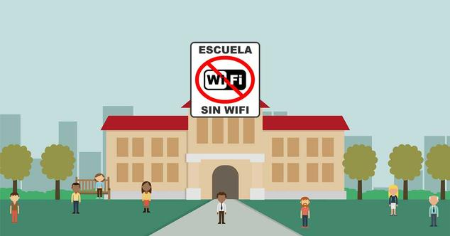 """Ver noticia 'Un colegio elimina el WiFi """"por la seguridad de pequeños y mayores""""'"""