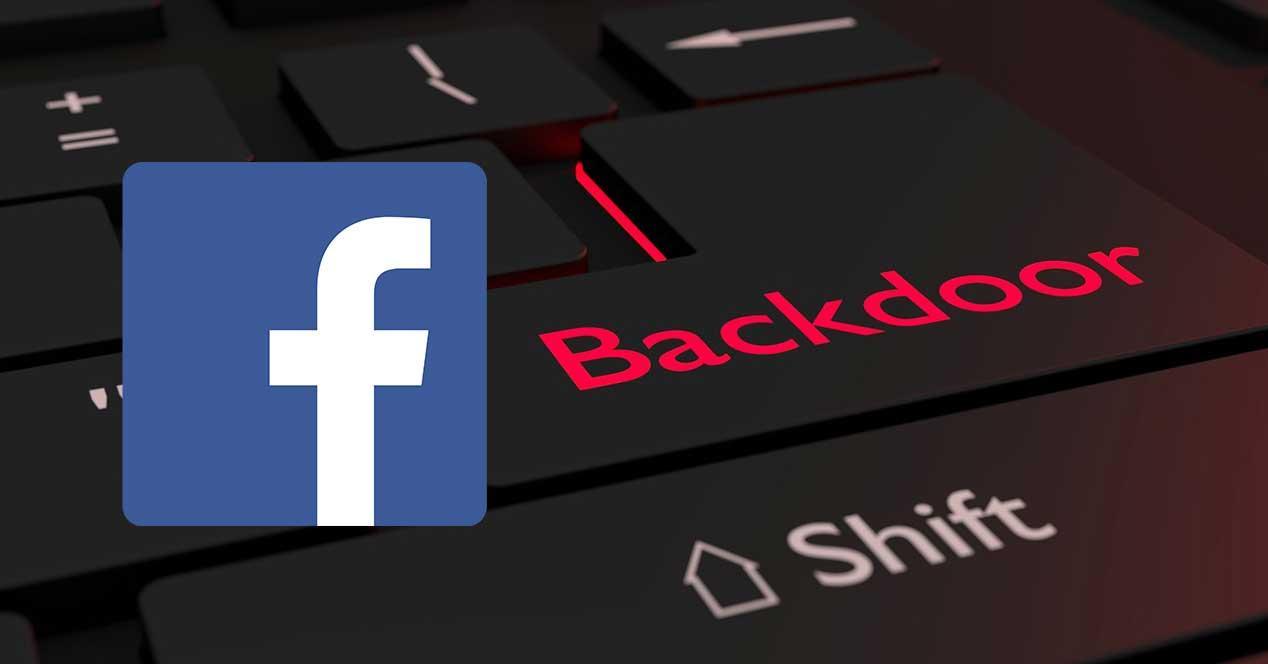 facebook puerta trasera