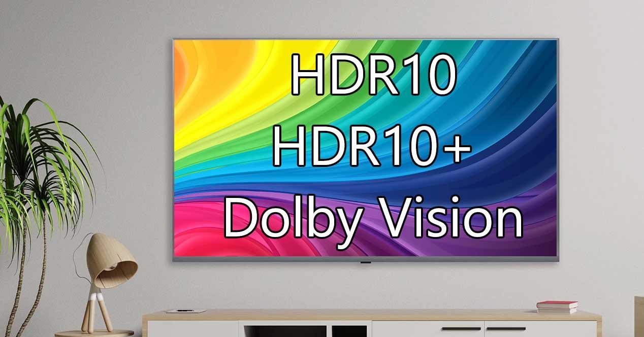 Dolby Vision vs HDR10 y HDR10+: qué HDR es mejor en tu Smart TV