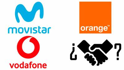 Movistar negocia compartir sus redes móviles con Orange y Vodafone
