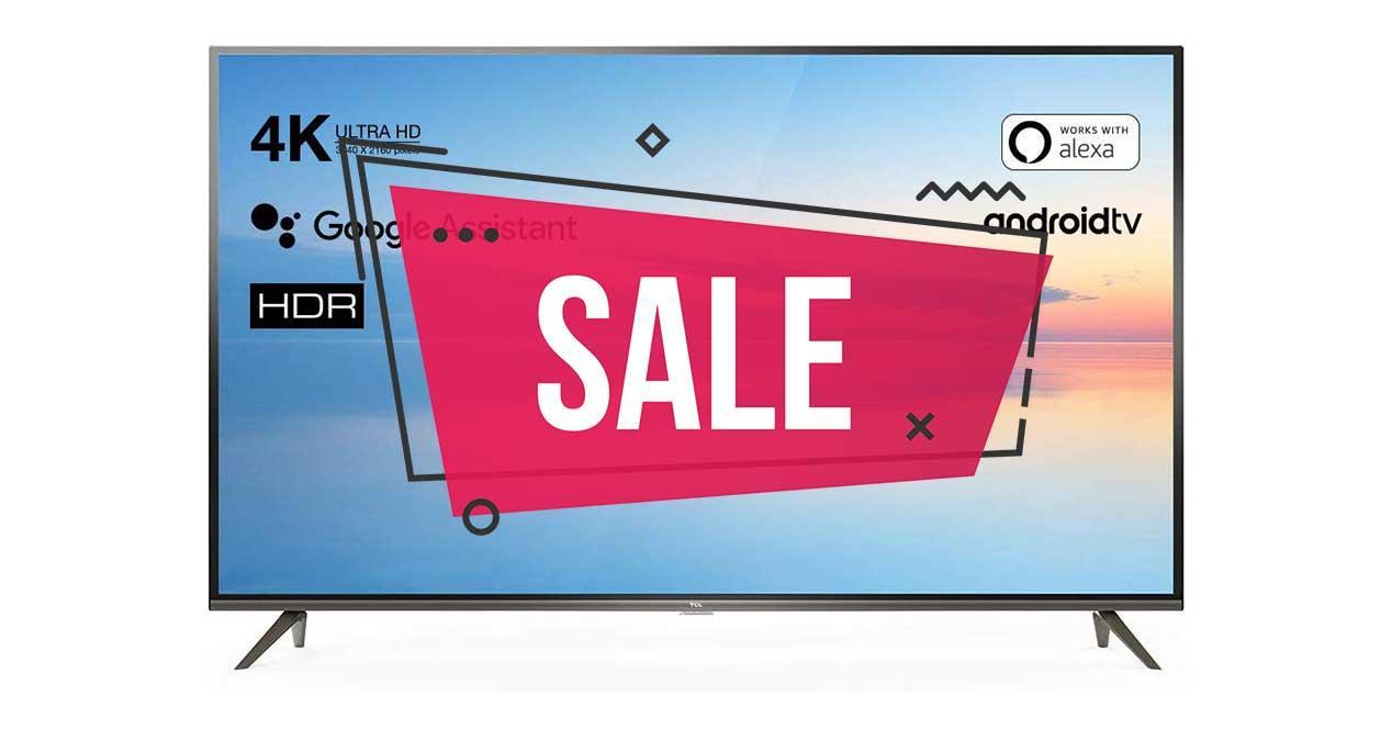 oferta smart tv tcl amazon