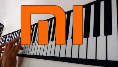 Xiaomi lanza un piano enrollable con batería, altavoces y app para el móvil