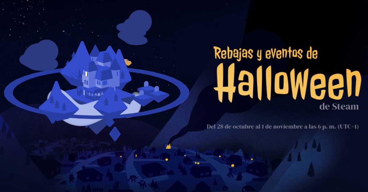 steam rebajas halloween 2019