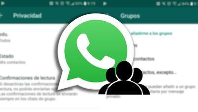 WhatsApp ya te permite evitar que te añadan a un grupo
