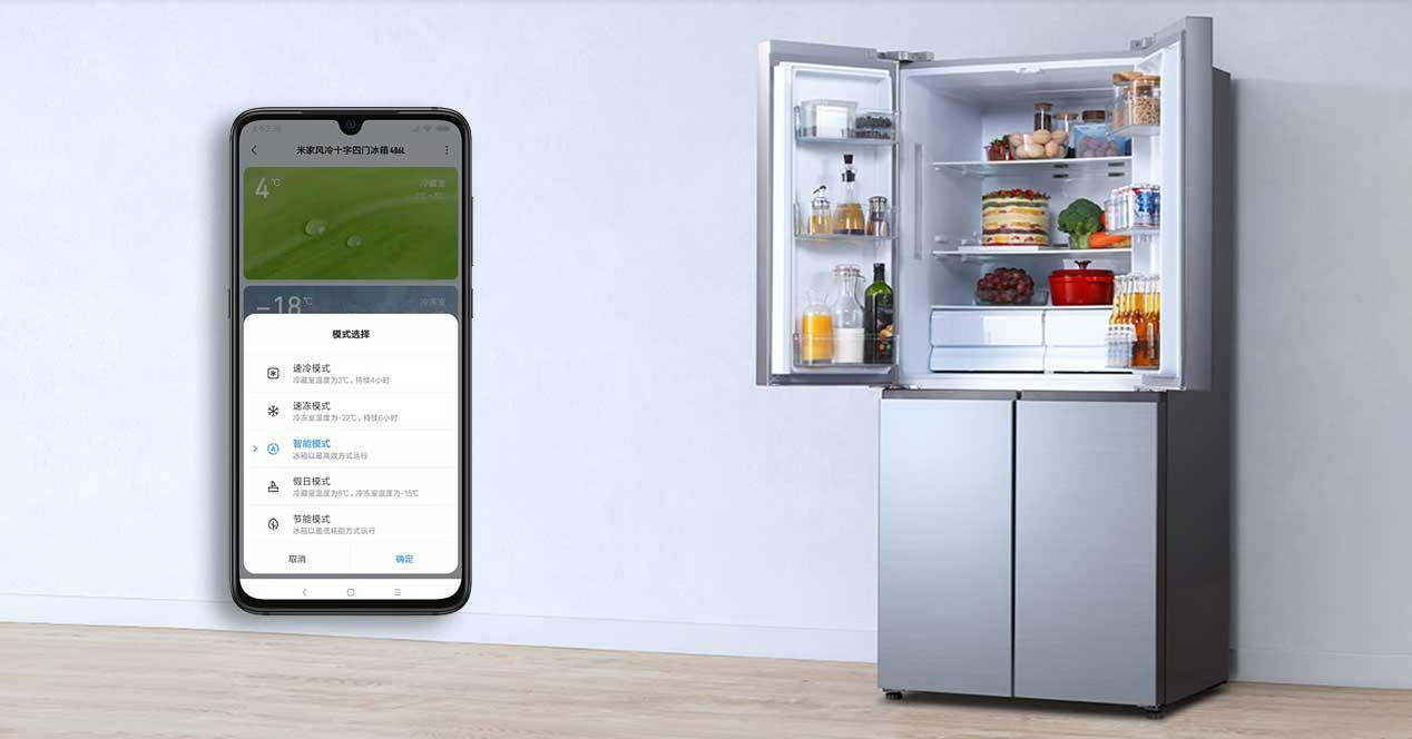Ver noticia 'Noticia 'Xiaomi lanza su primer frigorífico inteligente: control con el móvil y voz''