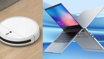 Xiaomi lanza nuevo robot aspirador más barato y un portátil RedmiBook
