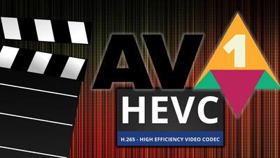 ¿Cuál es el mejor códec de vídeo? Comparativa entre AV1 vs HEVC