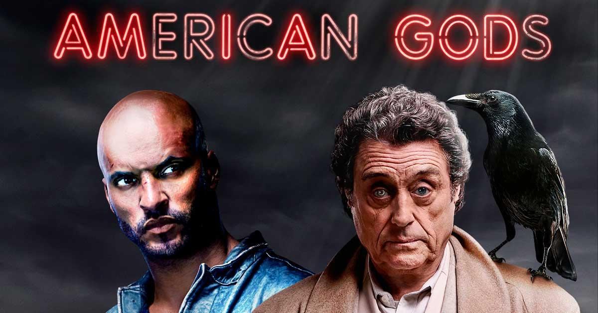 American Gods - Mejores series Amazon Prime Video
