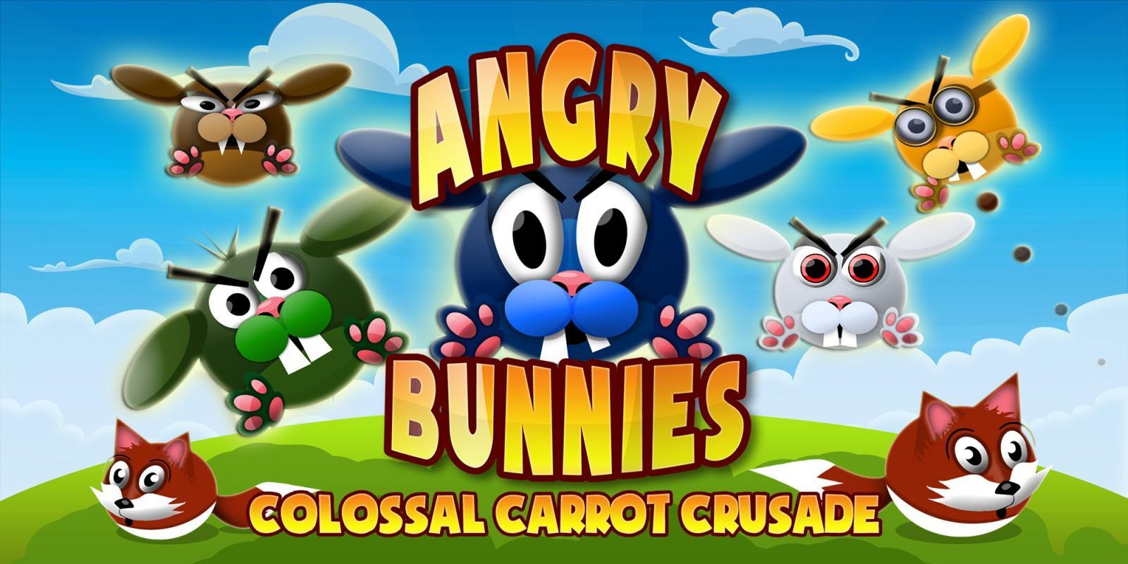 Angry Bunnies - Mejores juegos gratis para NIntendo Switch