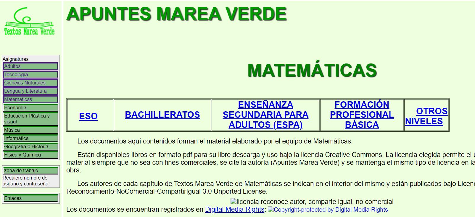 Apuntes marea verde - Descargar libros de texto gratis