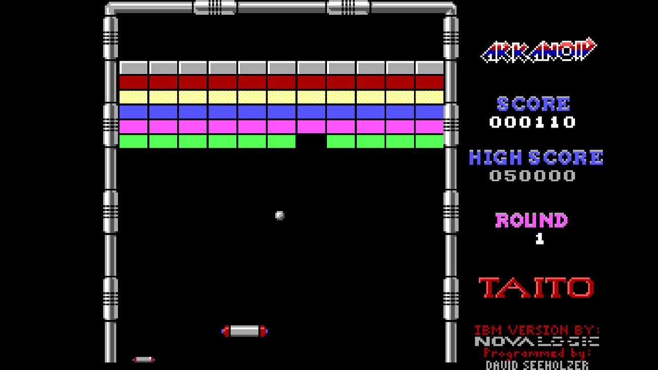 Arkanoid - Juegos gratis MS-DOS