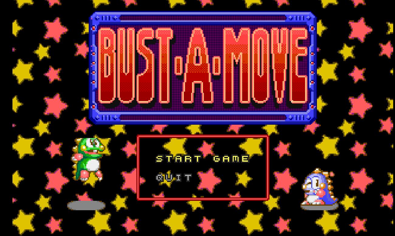 Bust a Move - Juego MSDOS
