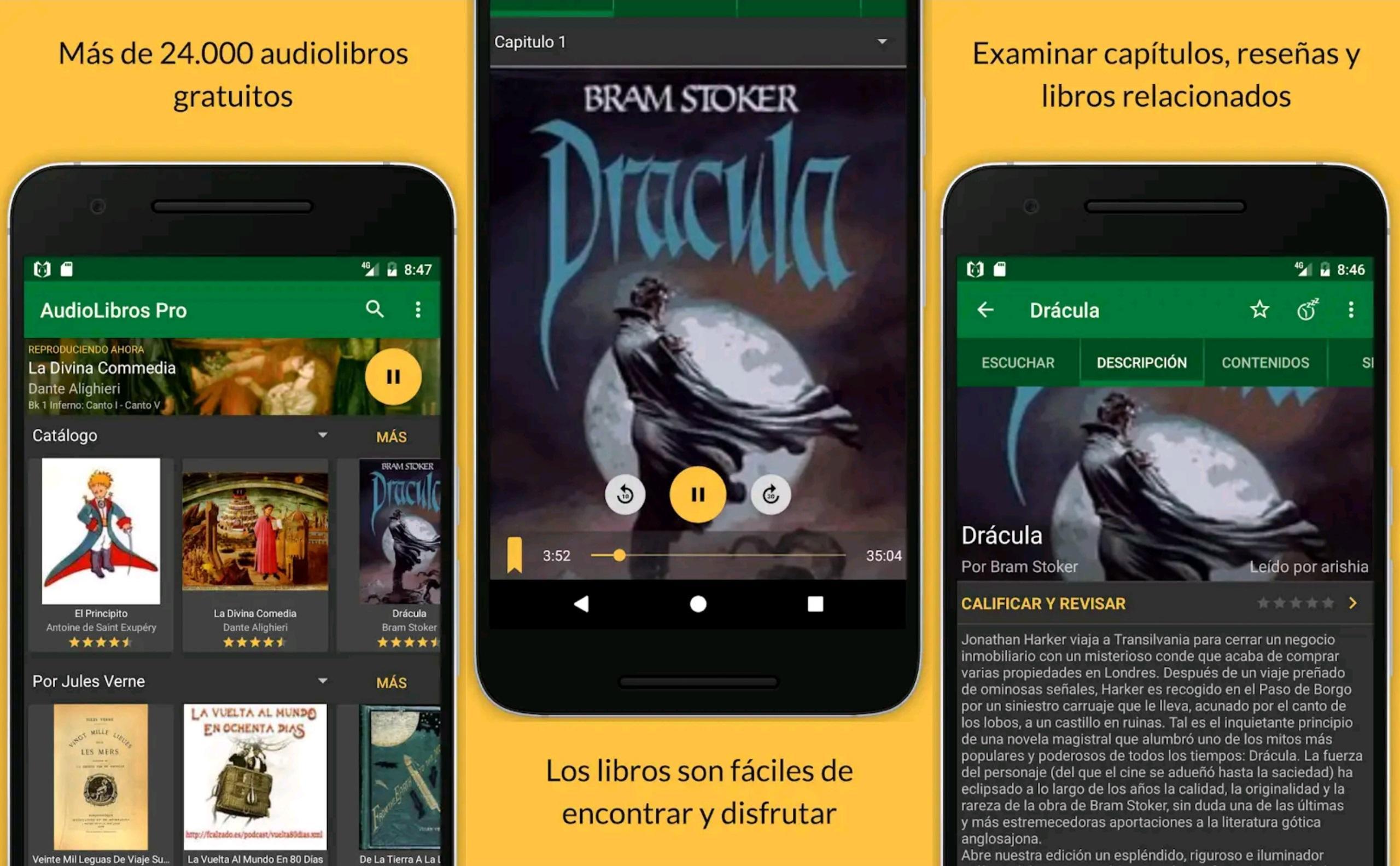 Descargar audiolibros en español