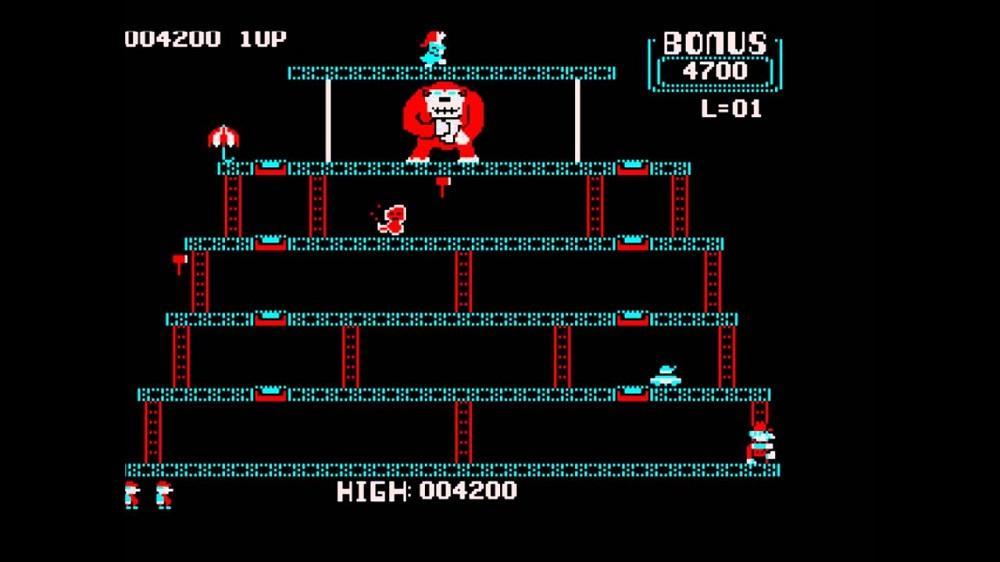 Donkey Kong - Juegos Gratis MS-DOS