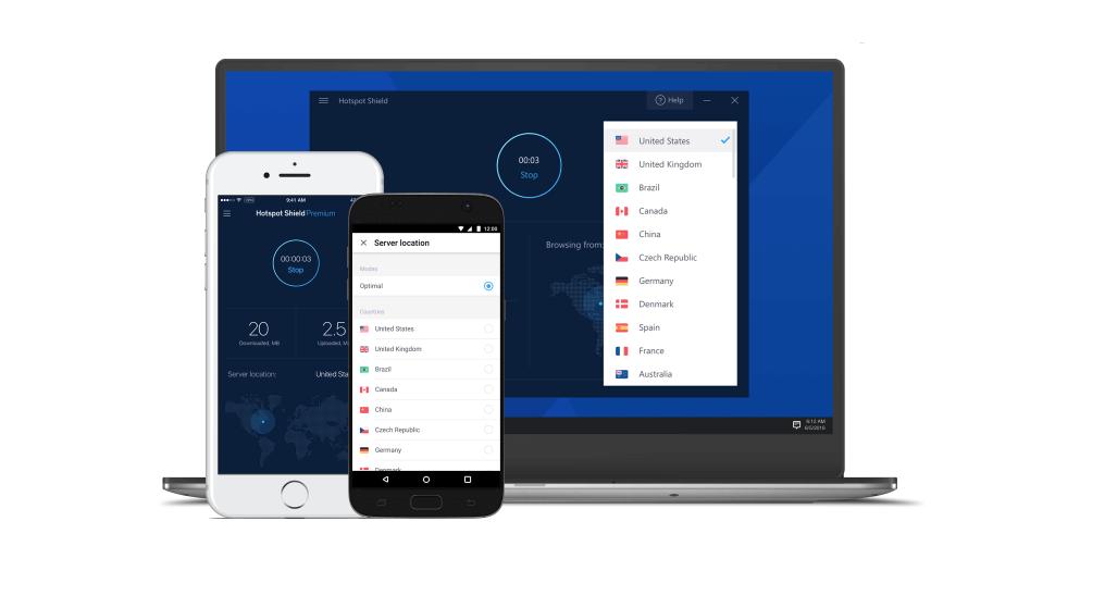 Hotspot Shield - Mejores VPN gratis
