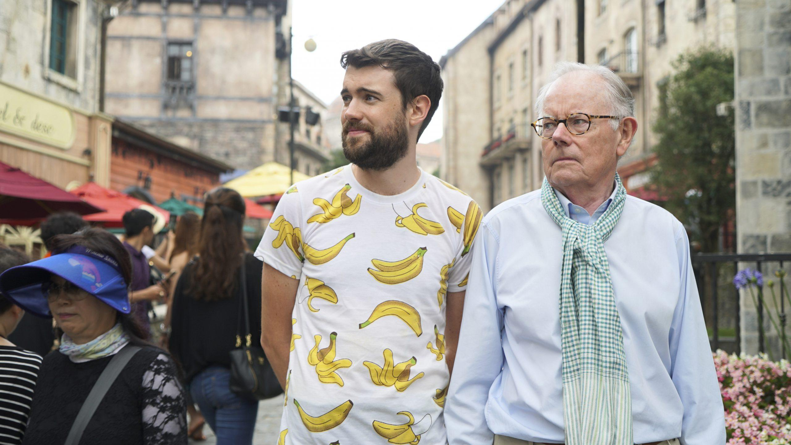Jack Whitehall Travels with my father - Mejores series de viaje