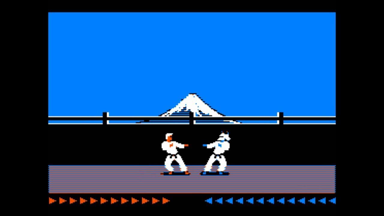 Karateka- juegos gratis MS-DOS