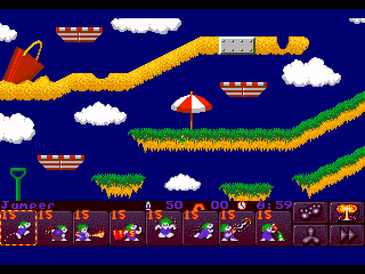 Lemmings Tribe - Mejores juegos MSDOS
