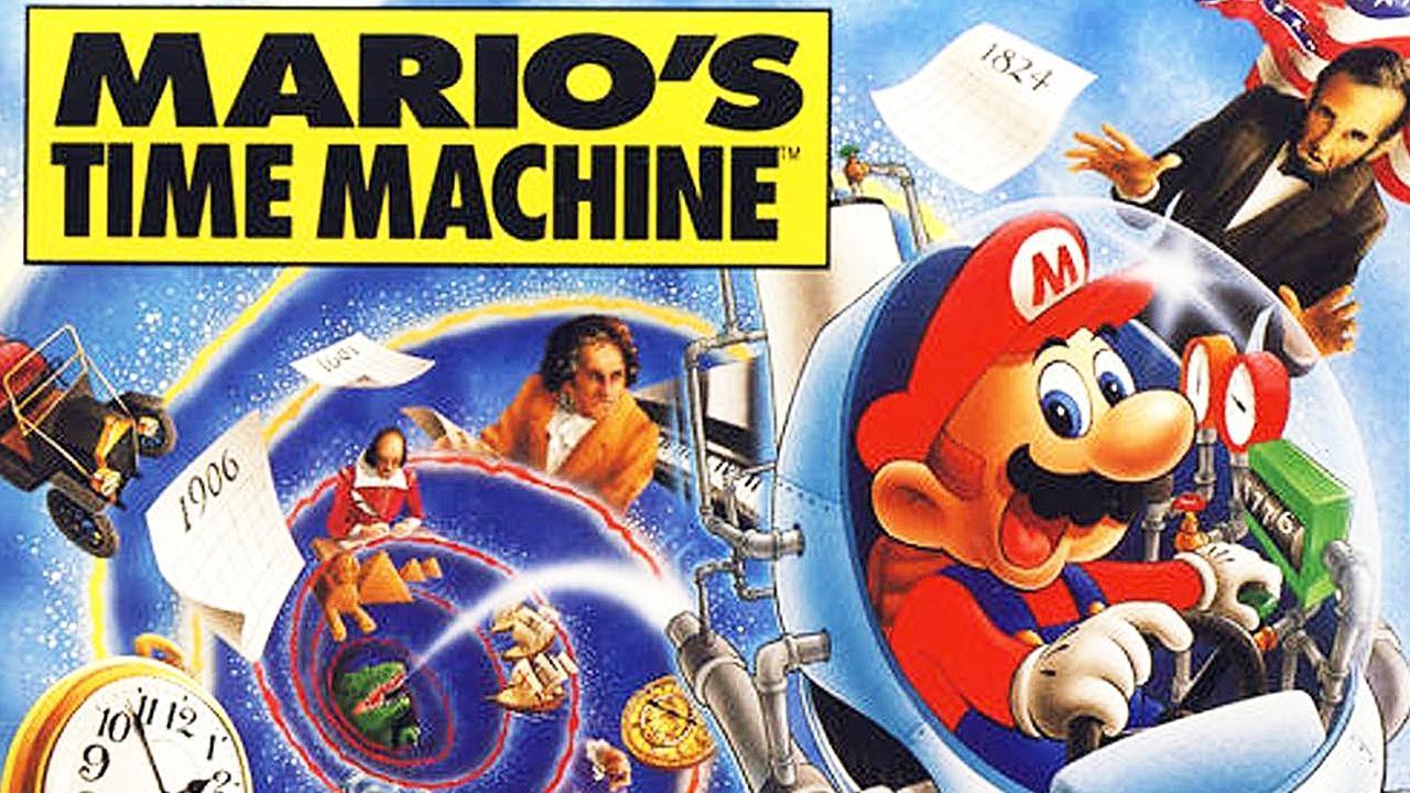 Mario time's Machine - juegos gratis MS-DOS