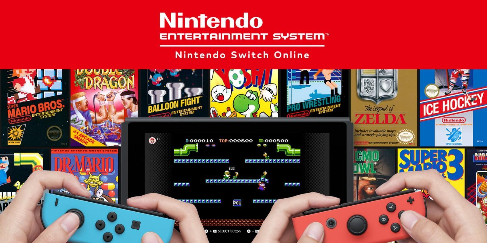 NES - juegos gratis para Nintendo Switch