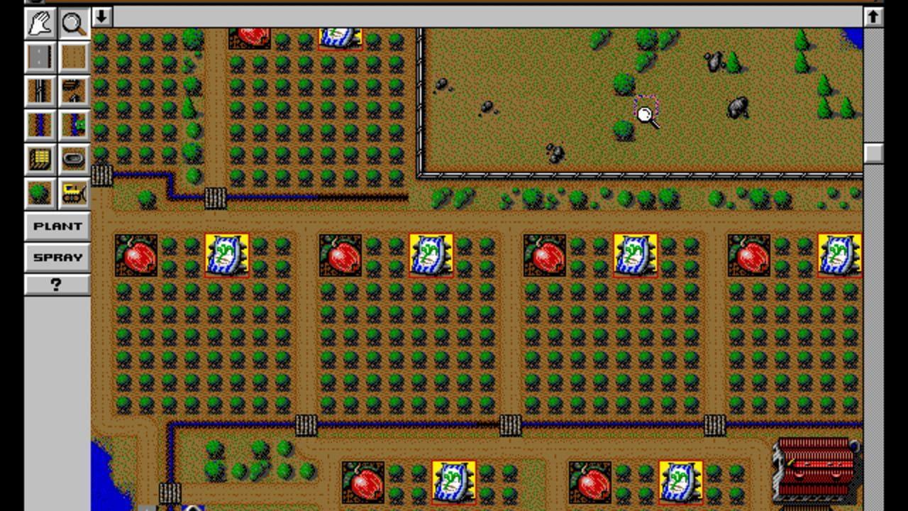 SimFarm - Mejores juegos gratis MS-DOS