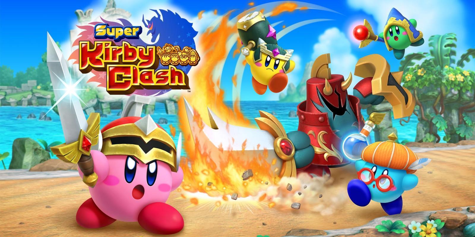 Super Kirby Clash - Mejores juegos gratis para Nintendo Switch