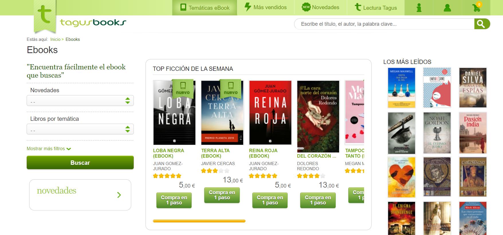 libros de texto gratis en TagusBook