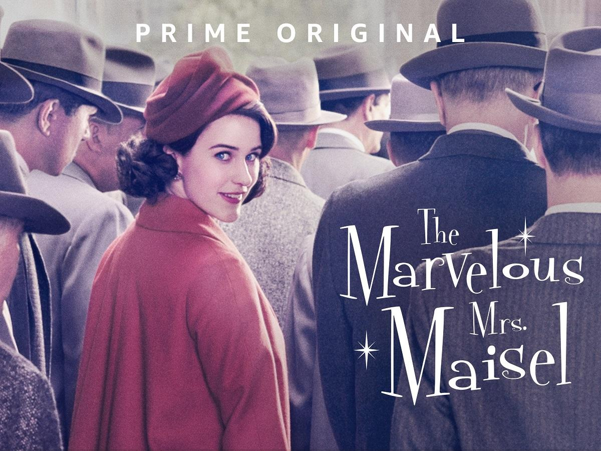 The marvelous mr maisel - Mejores series amazon prime video