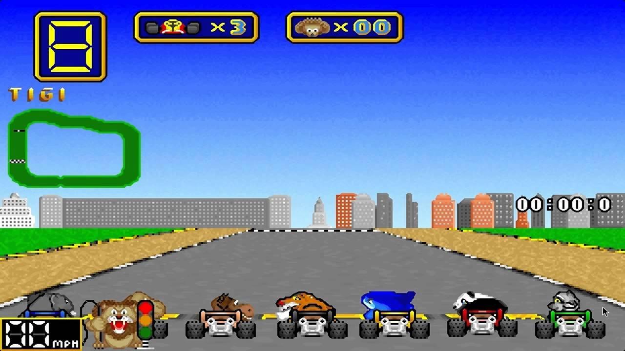 Wacky Wheels - juegos gratis MS-DOS