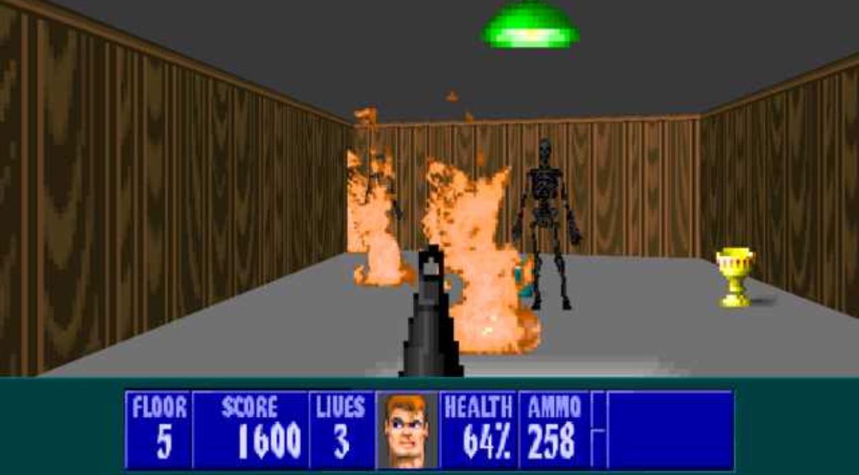 Wolf3d - Mejores juegos MSDOS